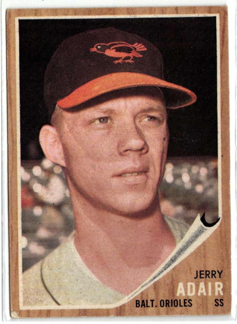 1962 Topps #449 Jerry Adair Good