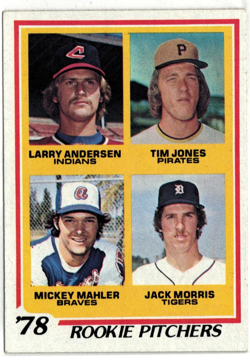1978 Topps  #703 Jack Morris DP RC EX