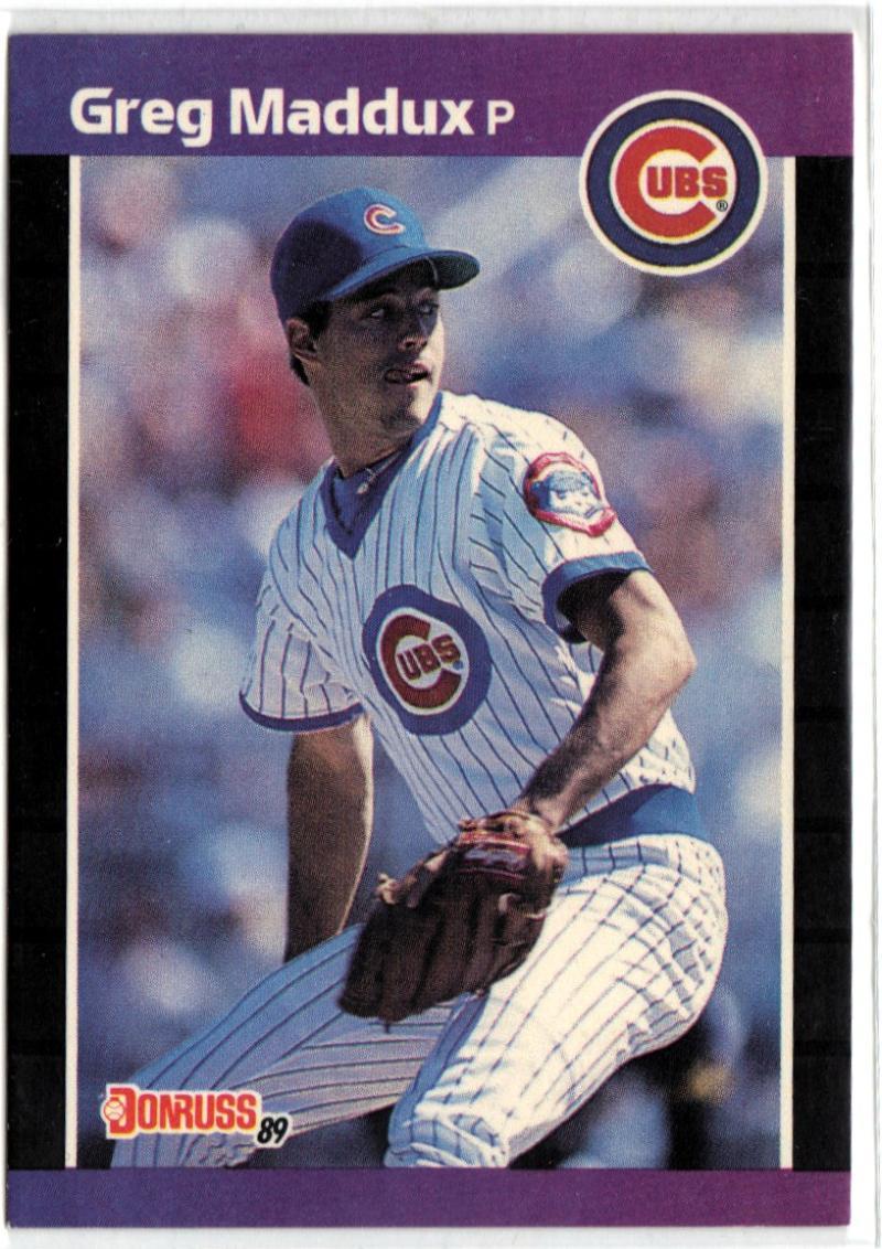 1989 Donruss  #373 Greg Maddux
