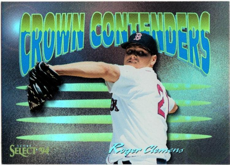1994 Select Crown Contenders  #CC3 Roger Clemens NM-MT