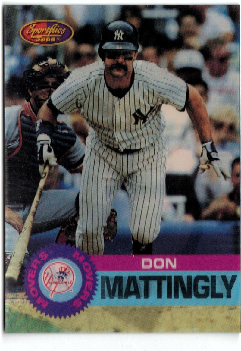 1994 Sportflics Movers  #MM9 Don Mattingly