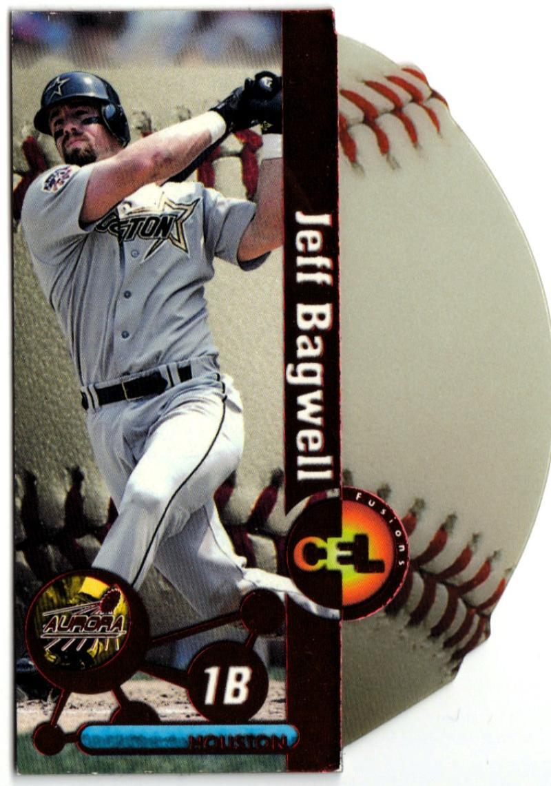 1998 Pacific Aurora Hardball Cel-Fusions #8 Jeff Bagwell EX++