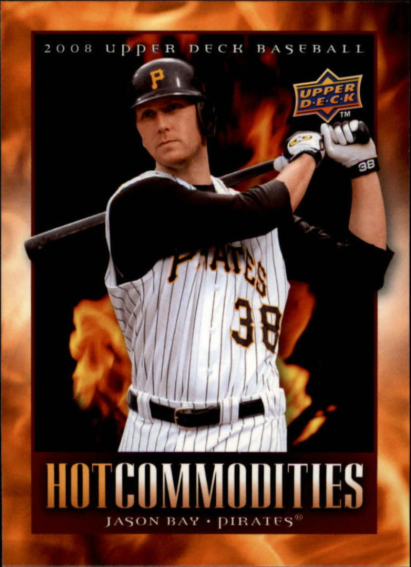 2008 Upper Deck Hot Commodities #HC42 Jason Bay
