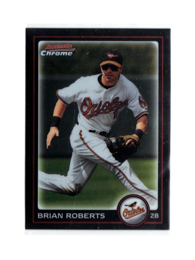 2010 Bowman Chrome #13 Brian Roberts