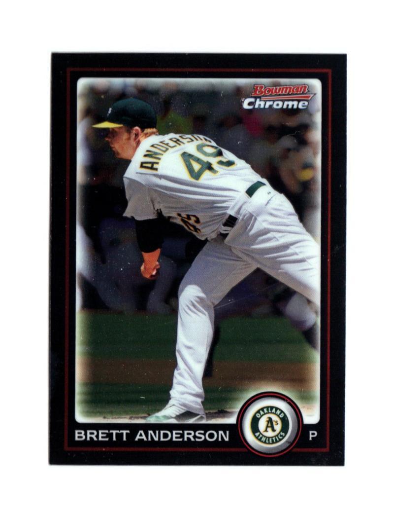 2010 Bowman Chrome #159 Brett Anderson