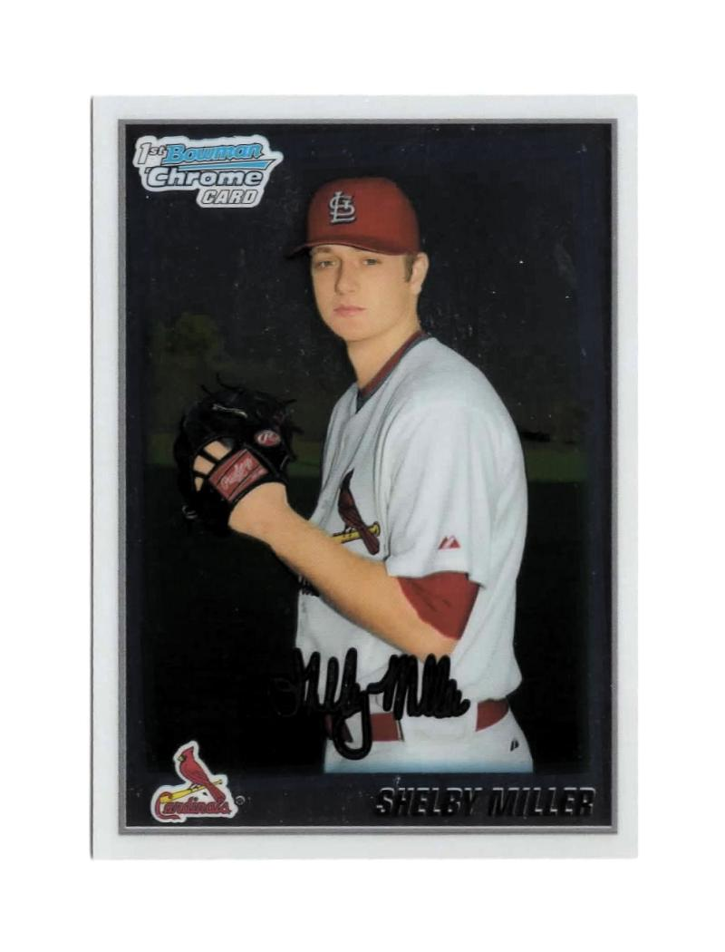 2010 Bowman Chrome Prospects #BCP204a Shelby Miller