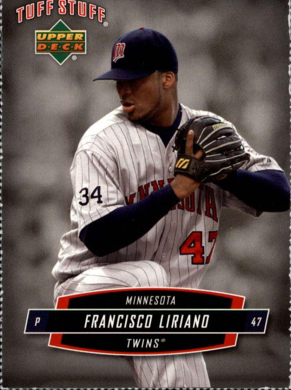 2006 Upper Deck Tuff Stuff #21 Francisco Liriano Perforated