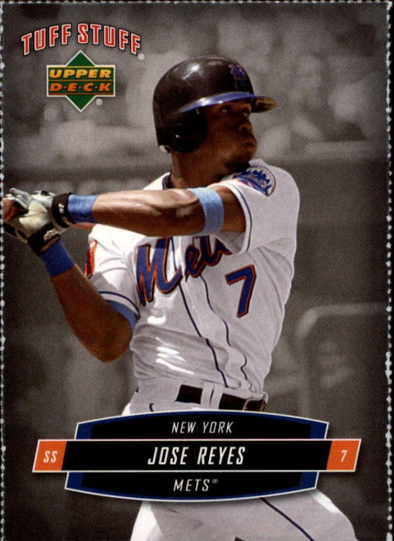 2006 Upper Deck Tuff Stuff #38 Jose Reyes Perforated