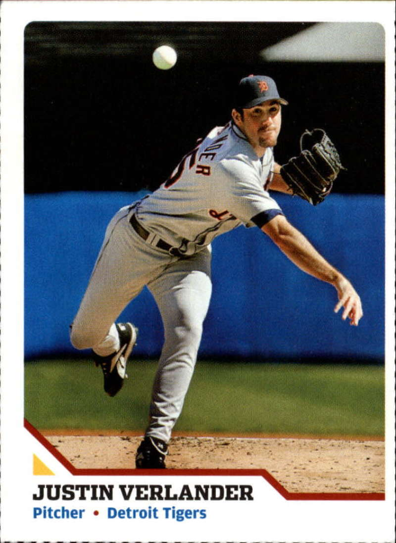 2007 Sports Illustrated for Kids #128 Justin Verlander EX Perforated