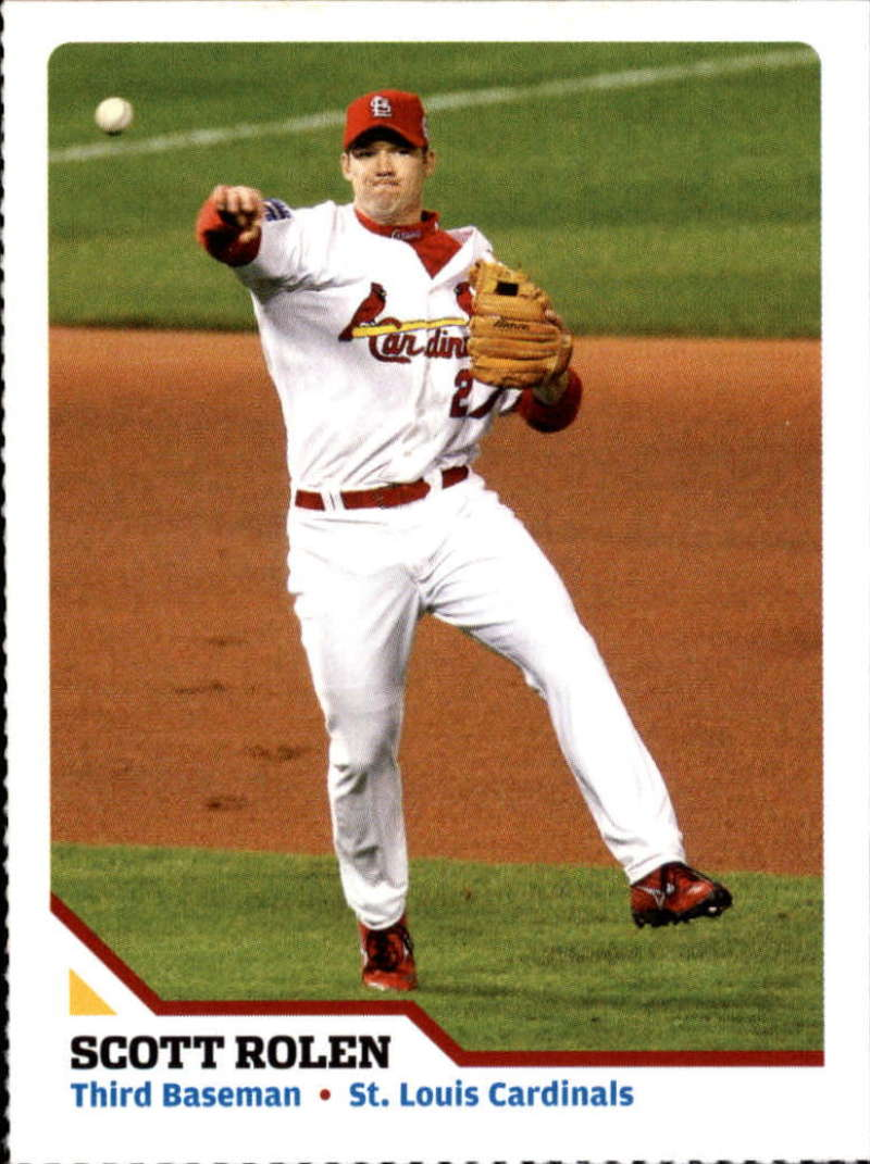 2007 Sports Illustrated for Kids #138 Scott Rolen Perforated