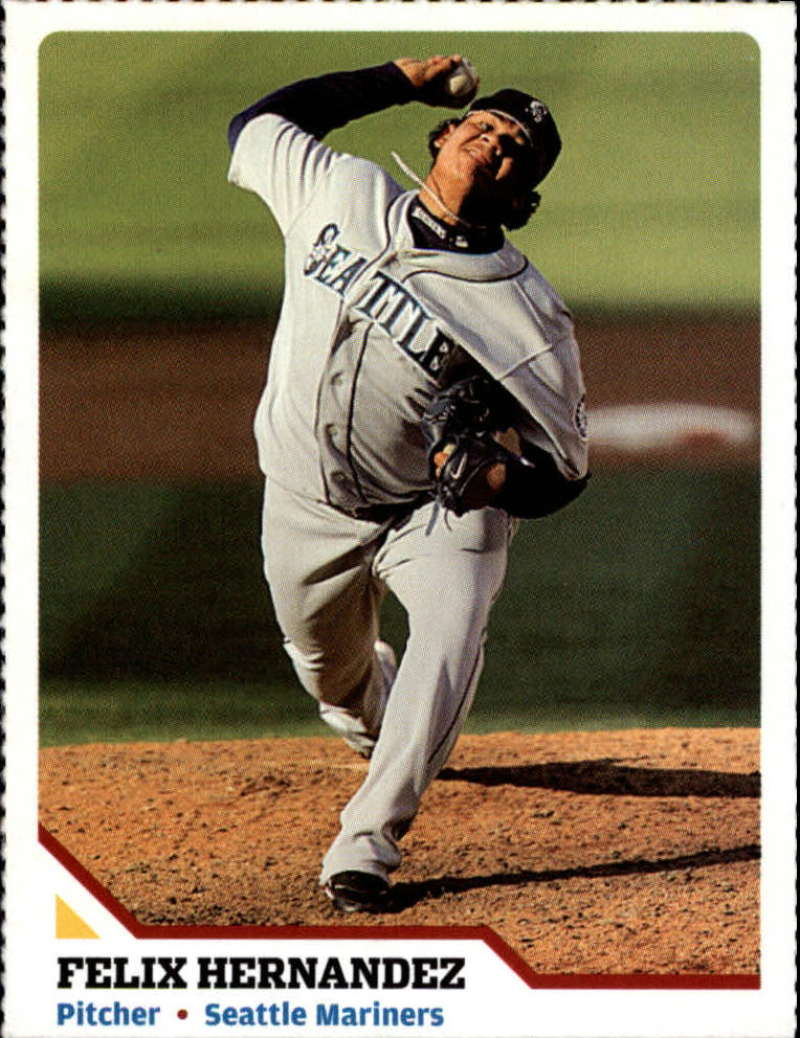 2007 Sports Illustrated for Kids #160 Felix Hernandez Perforated