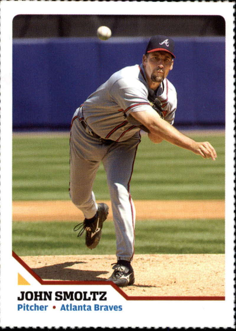 2007 Sports Illustrated for Kids #185 John Smoltz Perforated