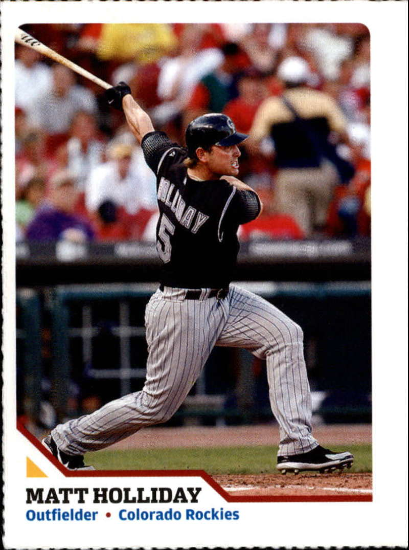 2007 Sports Illustrated for Kids #213 Matt Holliday Perforated