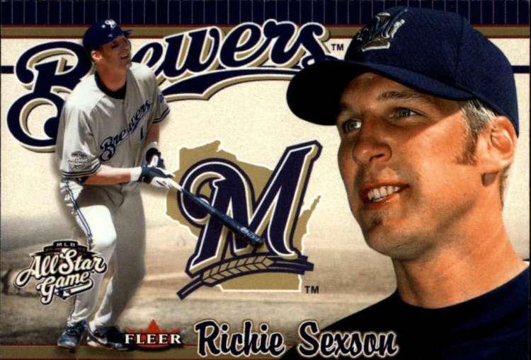 2002 FanFest #8 Richie Sexson Fleer EX