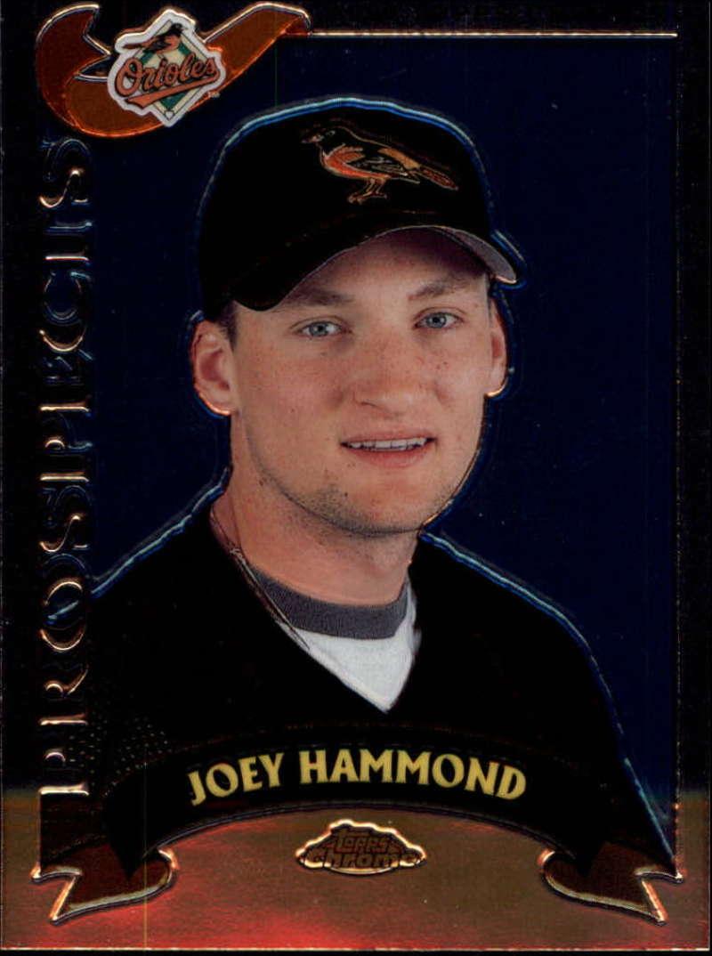 2002 Topps Chrome Traded #T229 Joey Hammond RC