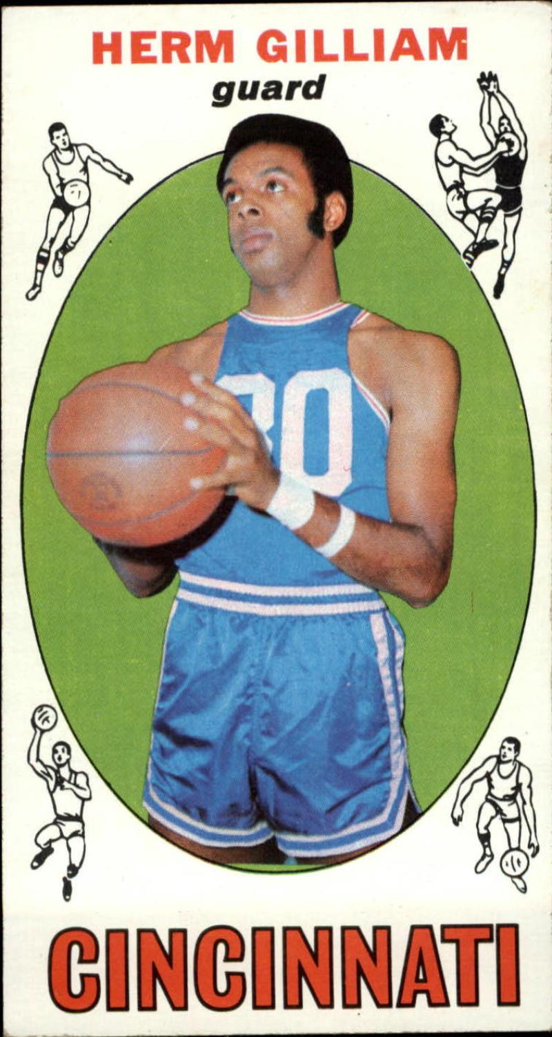Sports Card Attic Item 1969 70 Topps 87 Herm Gilliam EX RC