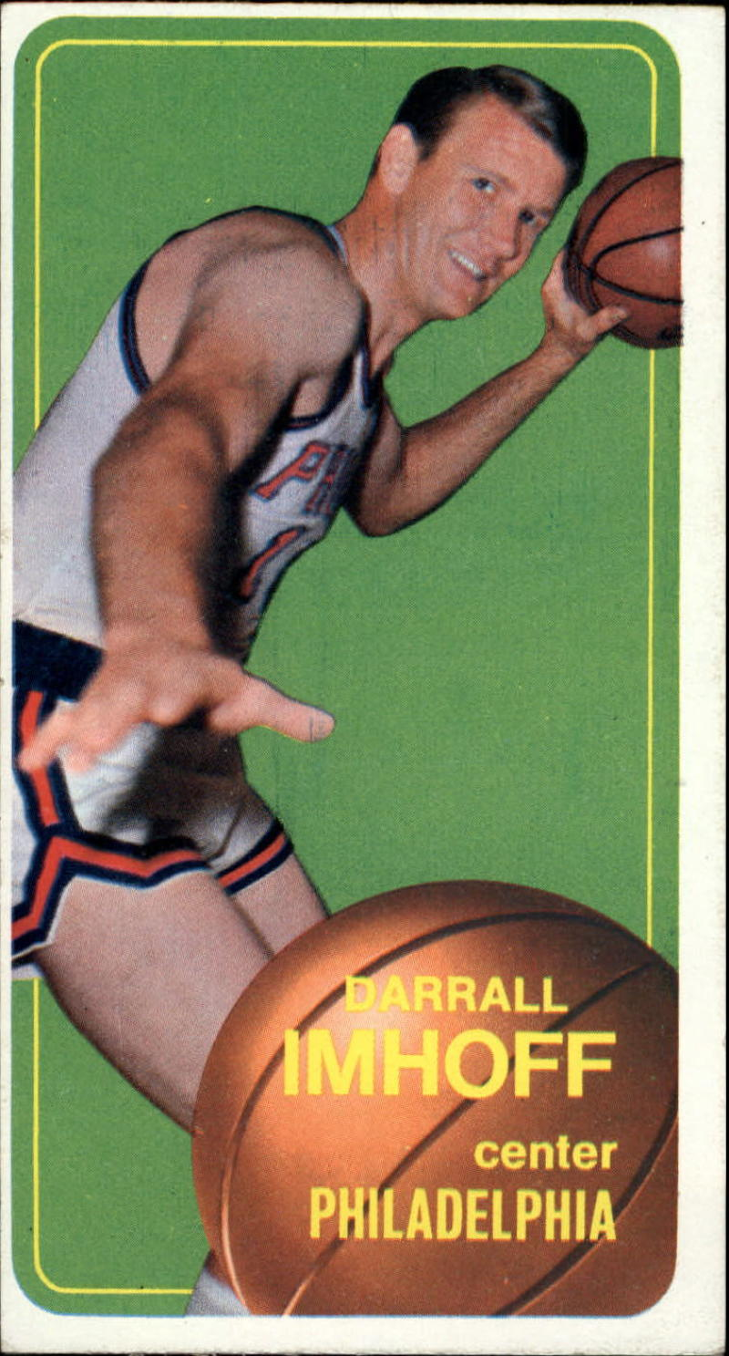 1970-71 Topps #57 Darrall Imhoff VG/EX 80/20