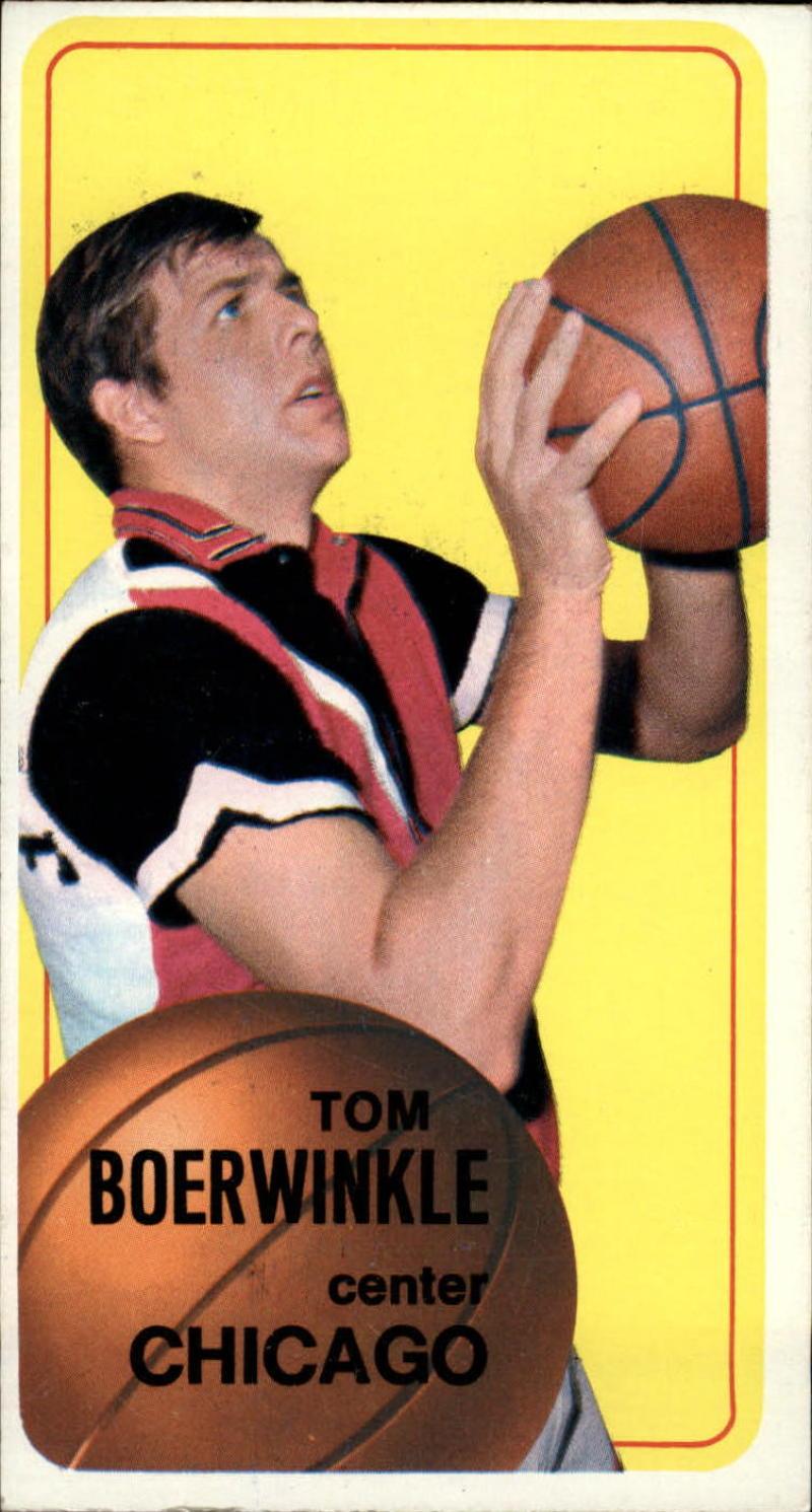 1970-71 Topps #68 Tom Boerwinkle VG 80/20