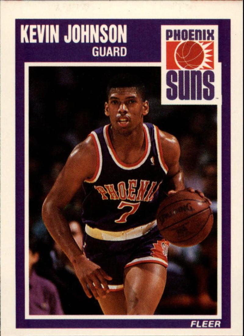 1989-90 Fleer #123 Kevin Johnson RC