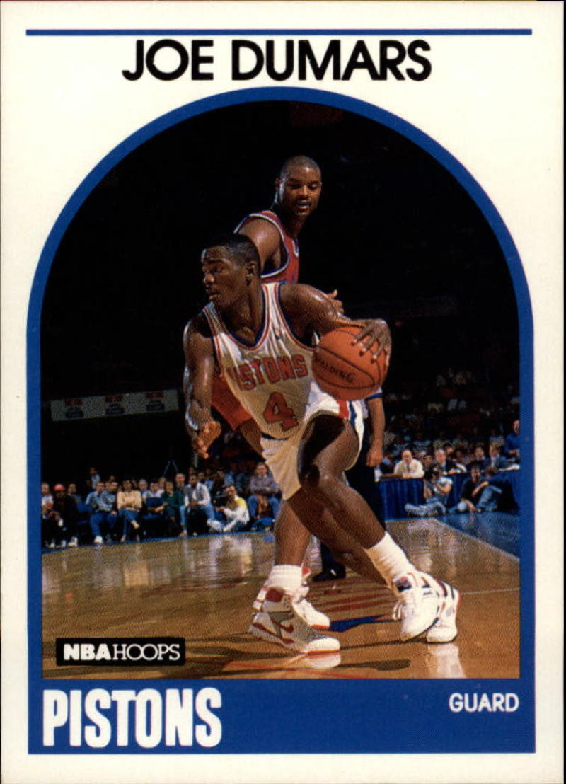 1989-90 Hoops #1 Joe Dumars