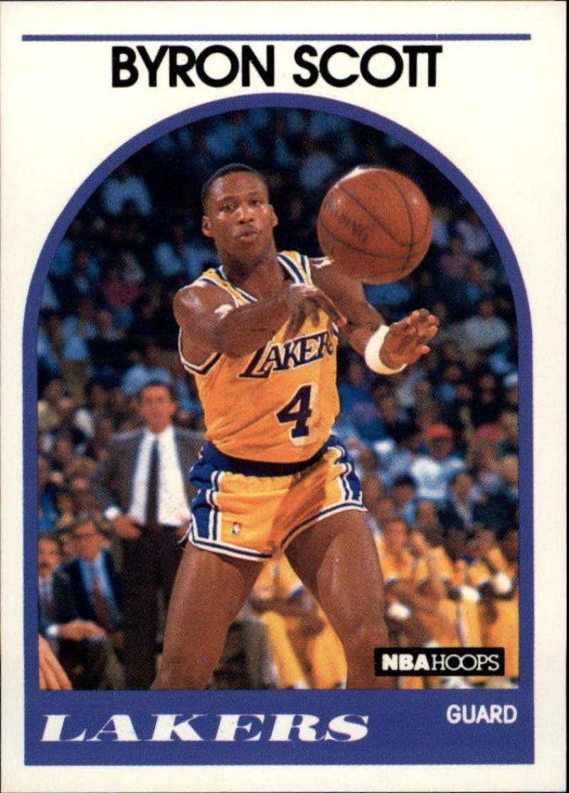 1989-90 Hoops #15 Byron Scott