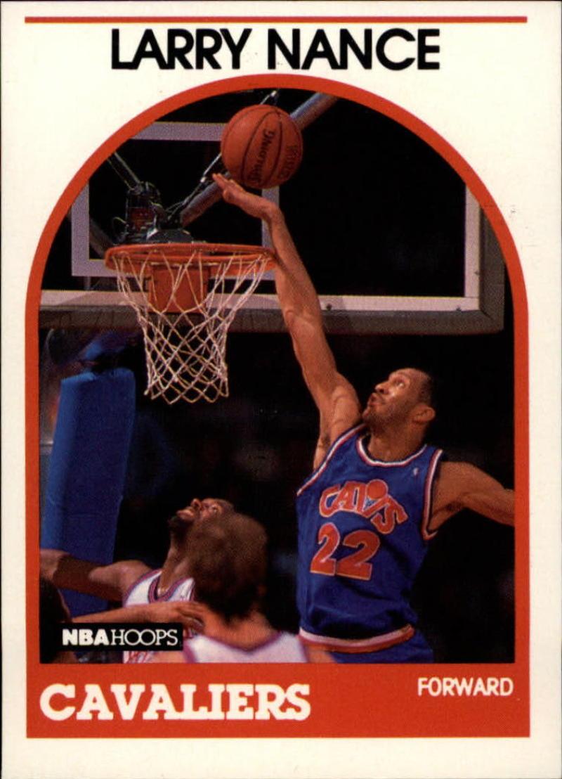 1989-90 Hoops #25 Larry Nance