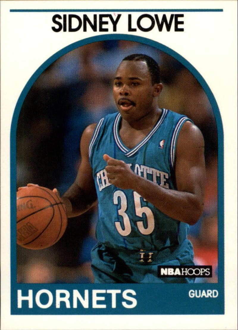 1989-90 Hoops #31 Sidney Lowe SP