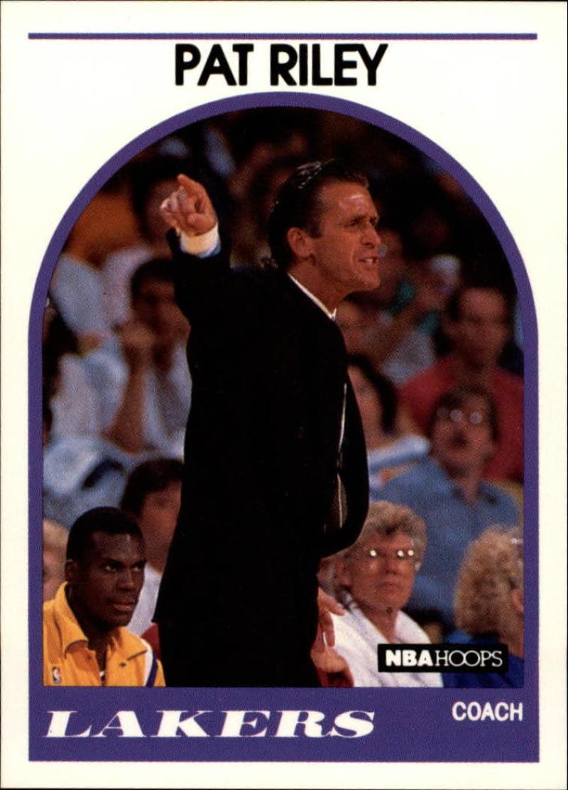 1989-90 Hoops #108 Pat Riley CO