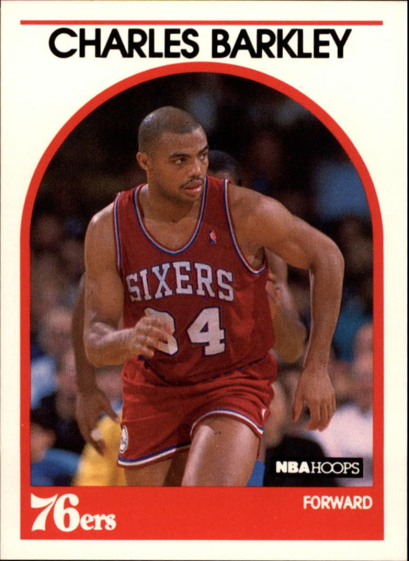 1989-90 Hoops #110 Charles Barkley