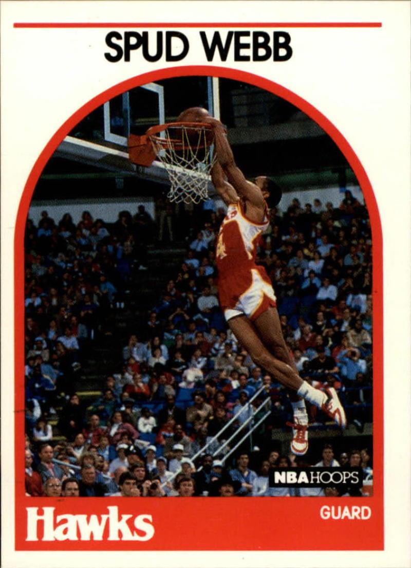 1989-90 Hoops   #115a Spud Webb  Err SP