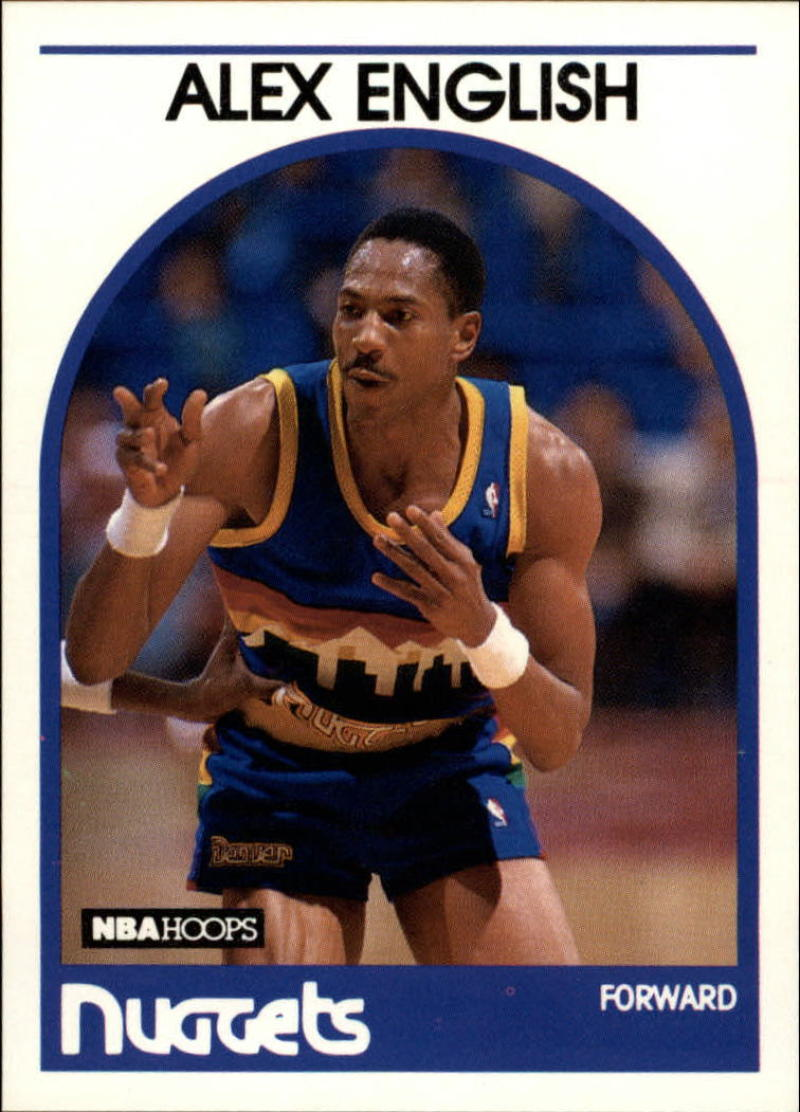 1989-90 Hoops #120 Alex English
