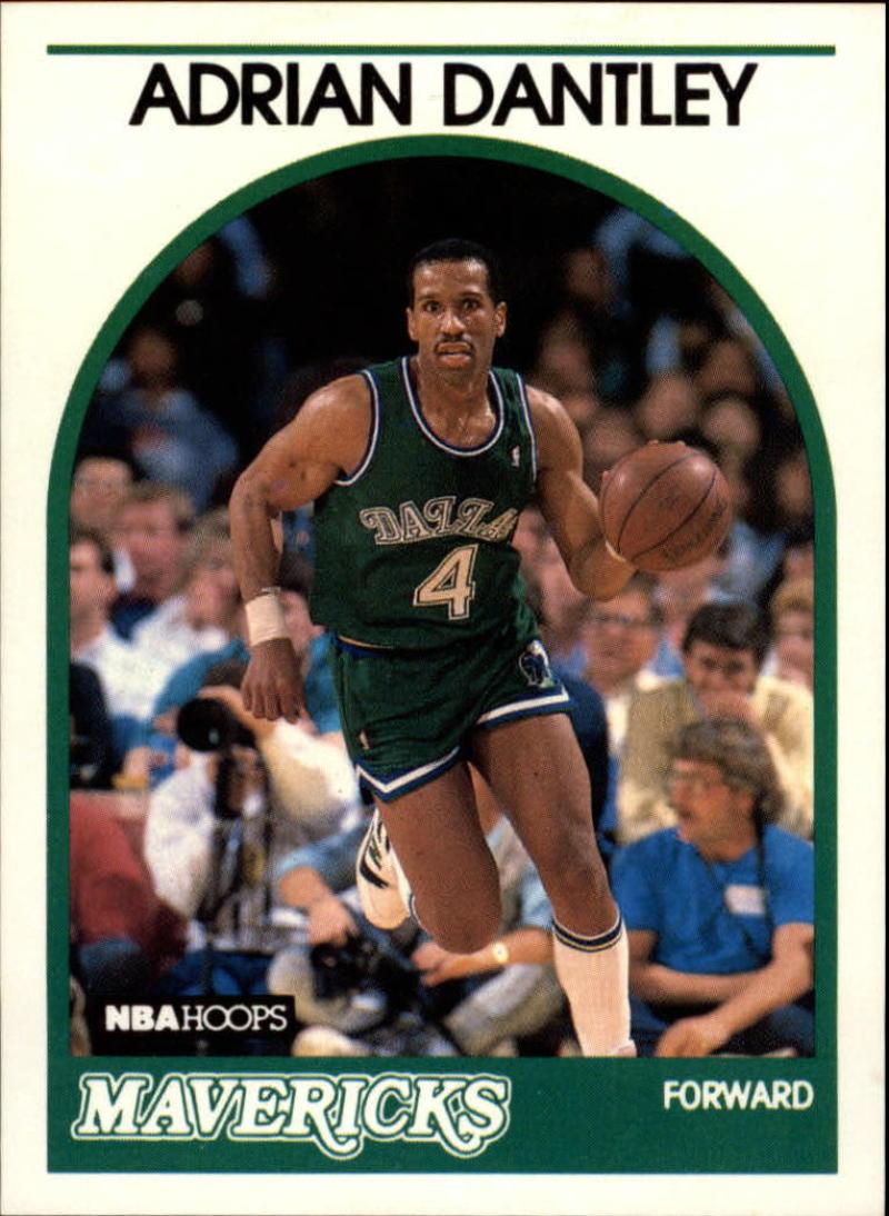 1989-90 Hoops #125 Adrian Dantley