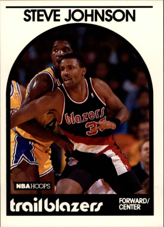 1989-90 Hoops #132 Steve Johnson SP