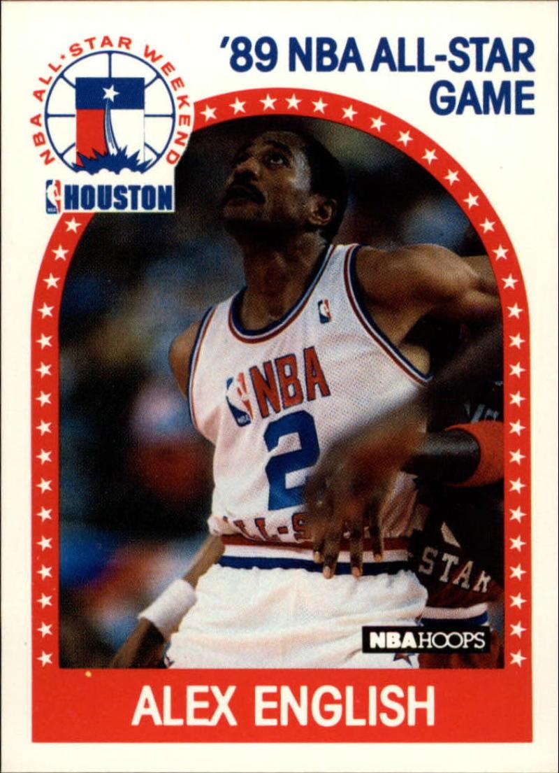 1989-90 Hoops #133 Alex English AS