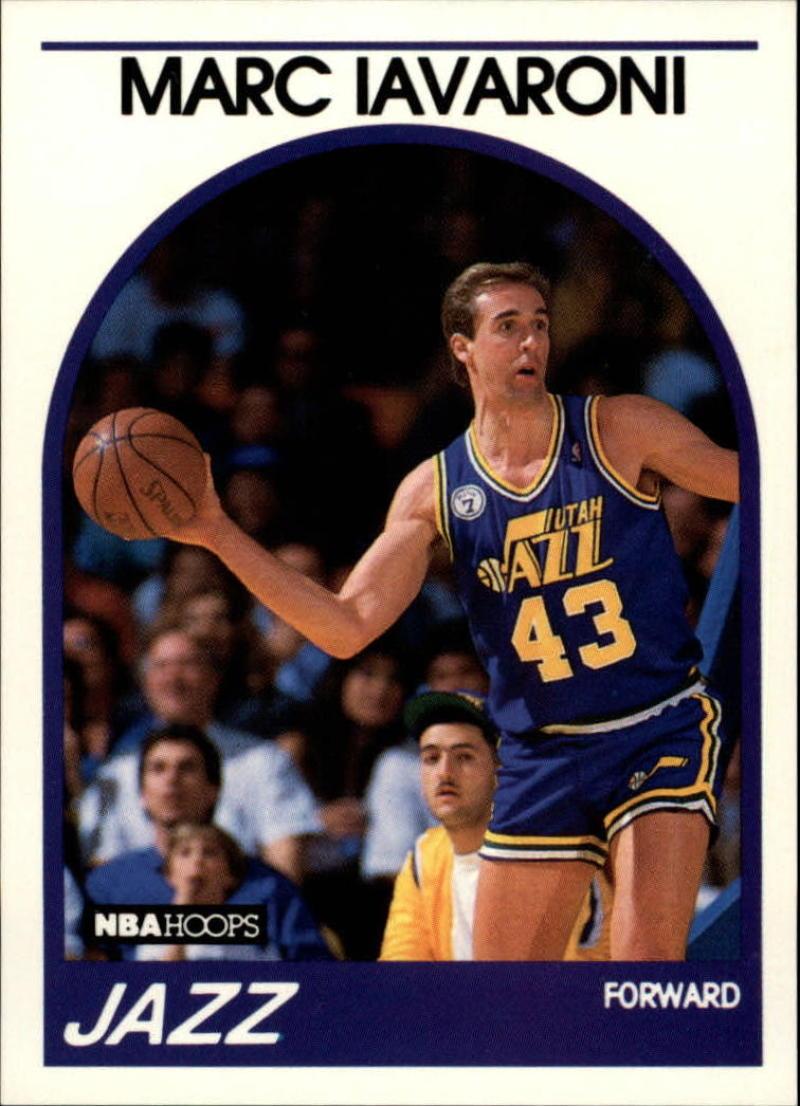 1989-90 Hoops #142 Marc Iavaroni SP