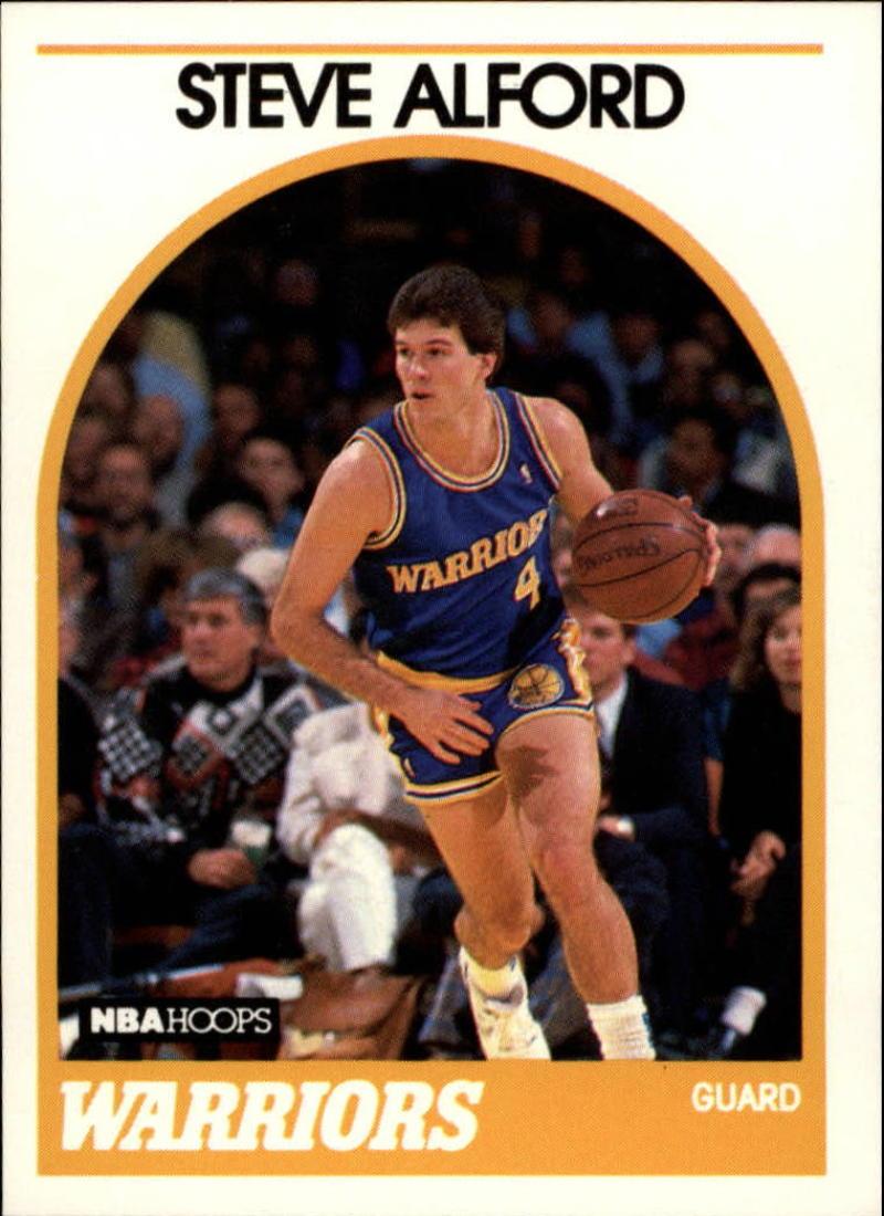 1989-90 Hoops #143 Steve Alford RC SP