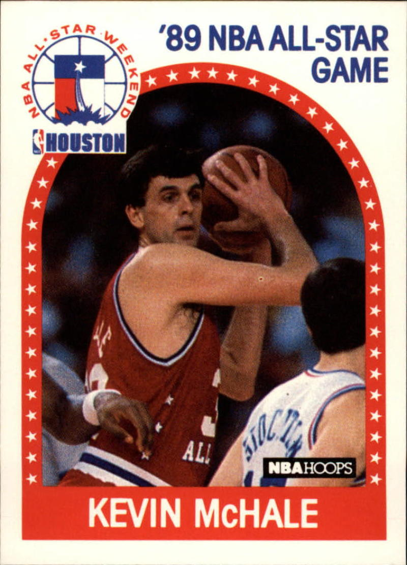 1989-90 Hoops #156 Kevin McHale UER AS