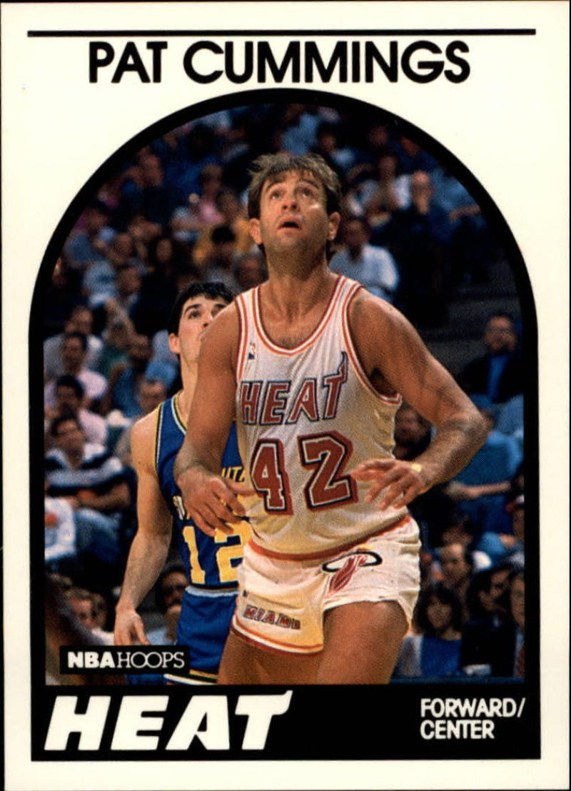 1989-90 Hoops #158 Pat Cummings SP