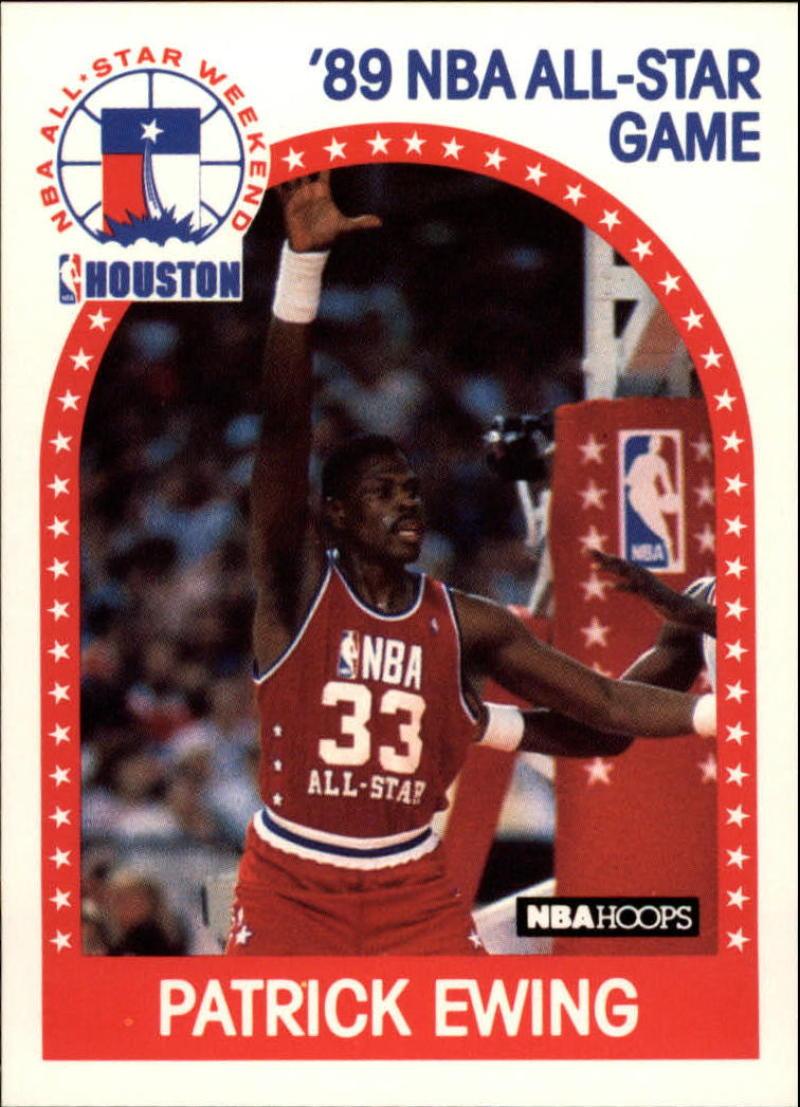 1989-90 Hoops #159 Patrick Ewing AS