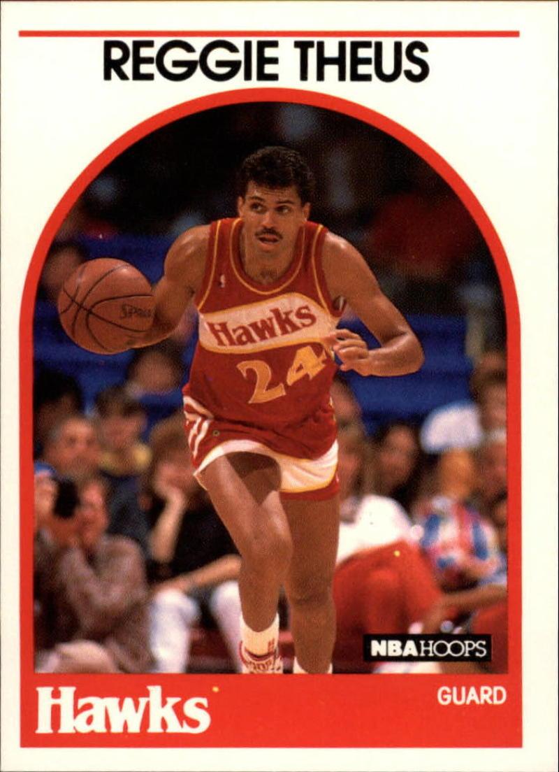 1989-90 Hoops #165 Reggie Theus SP