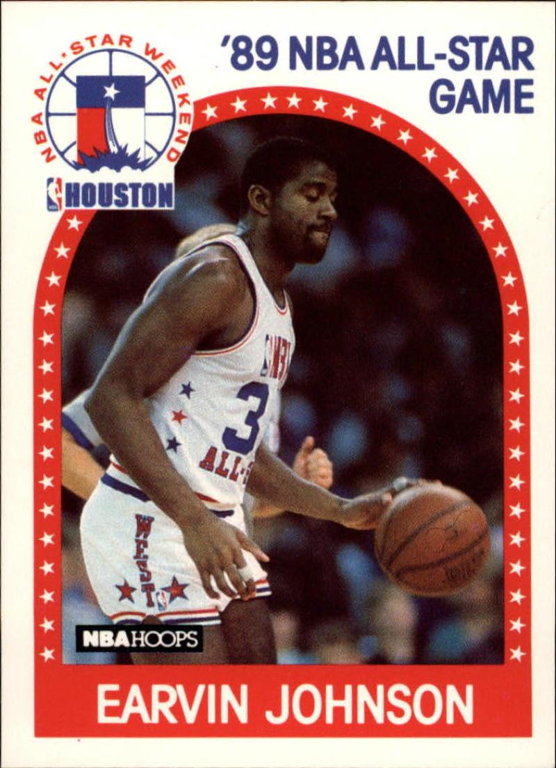 1989-90 Hoops #166 Magic Johnson AS