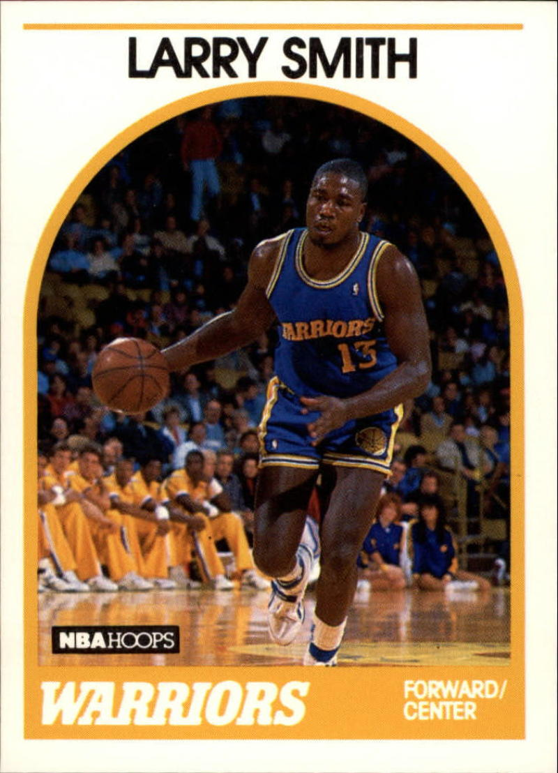 1989-90 Hoops #168 Larry Smith SP