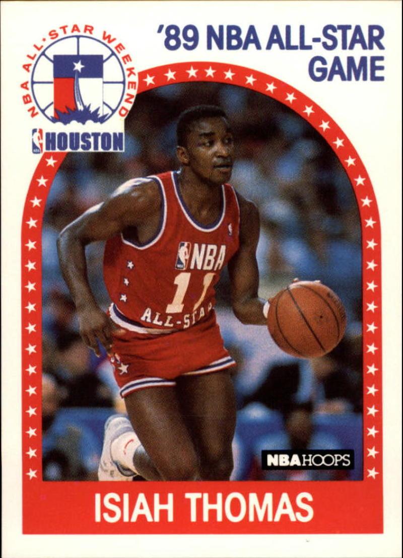 1989-90 Hoops #177 Isiah Thomas AS