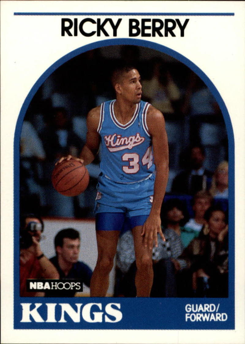 1989-90 Hoops #186 Ricky Berry SP