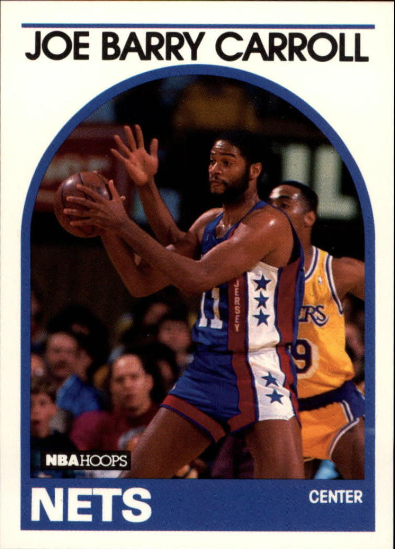1989-90 Hoops #198 Joe Barry Carroll