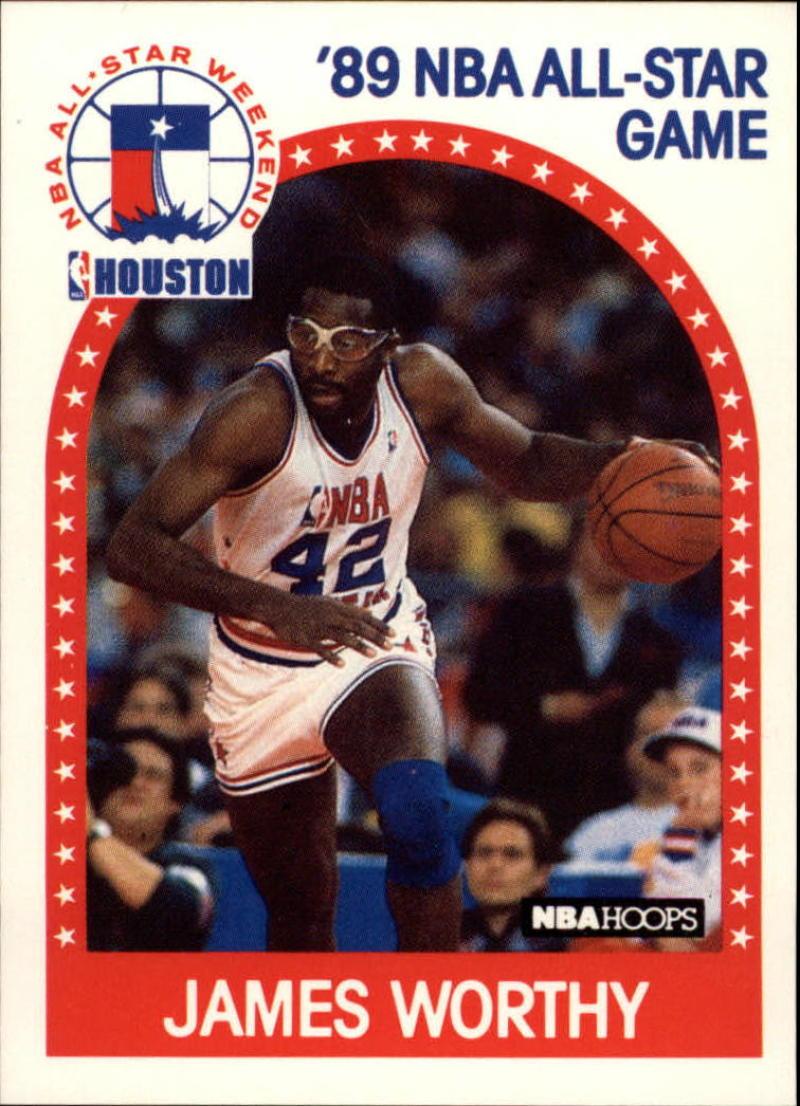 1989-90 Hoops #219 James Worthy AS