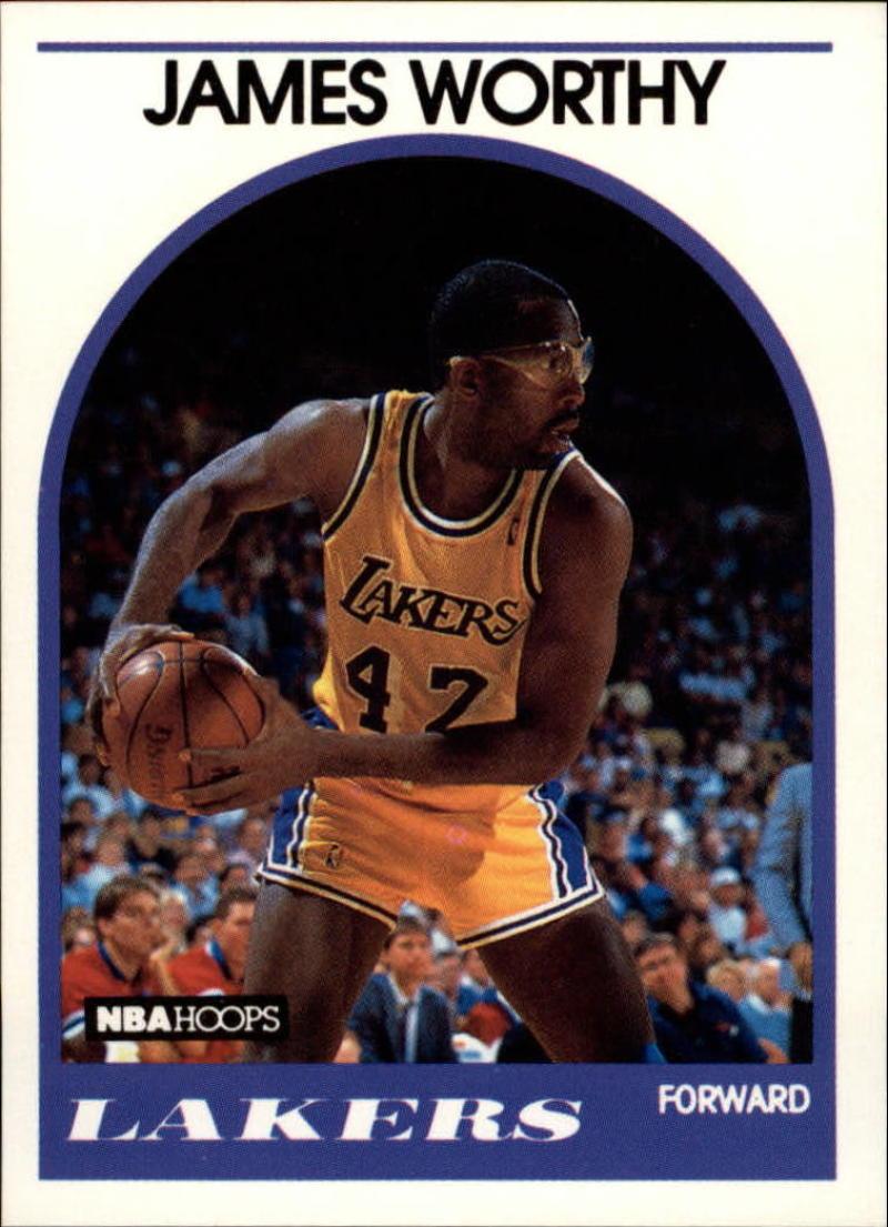 1989-90 Hoops #210 James Worthy