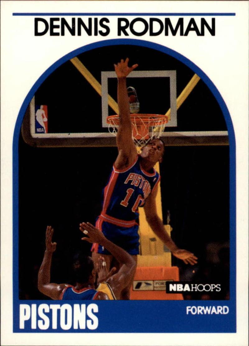 1989-90 Hoops #211 Dennis Rodman