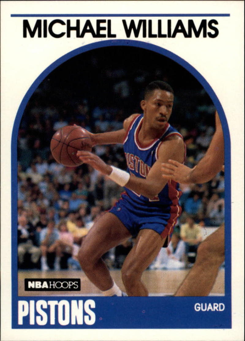 1989-90 Hoops #224 Micheal Williams RC SP