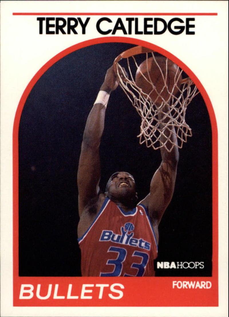 1989-90 Hoops #239 Terry Catledge SP